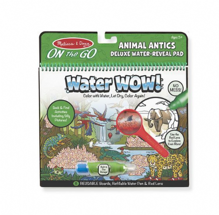 Melissa & Doug On the Go - Animal Antics Water Wow!